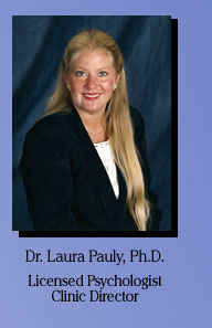 Dr. Laura Pauly Ph.D. Licensed Psychologist