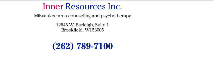Inner Resources 12545 W. Burleigh,  Suite 1 Brookfield, WI 53005 (262) 789-7100